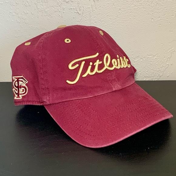 Florida State Seminoles FSU Titleist Golf Hat